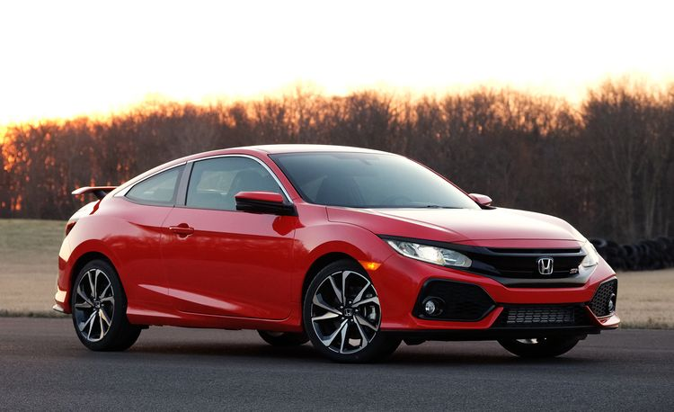 The 2019 Honda Civic Si Gets New Colors and a Volume Knob