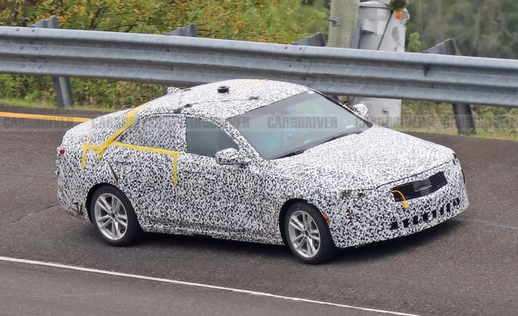 Spied: 2021 Cadillac CT4, the Brand's Future Entry-Level Sedan