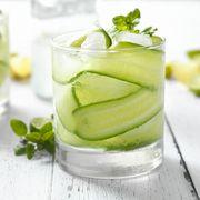 Cucumber, Basil and Citrus Cocktail