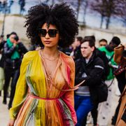 Eyewear, Clothing, Street fashion, Fashion, Sunglasses, Fashion model, Cool, Fashion show, Fun, Event,