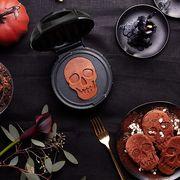 mini skull waffle maker by dash