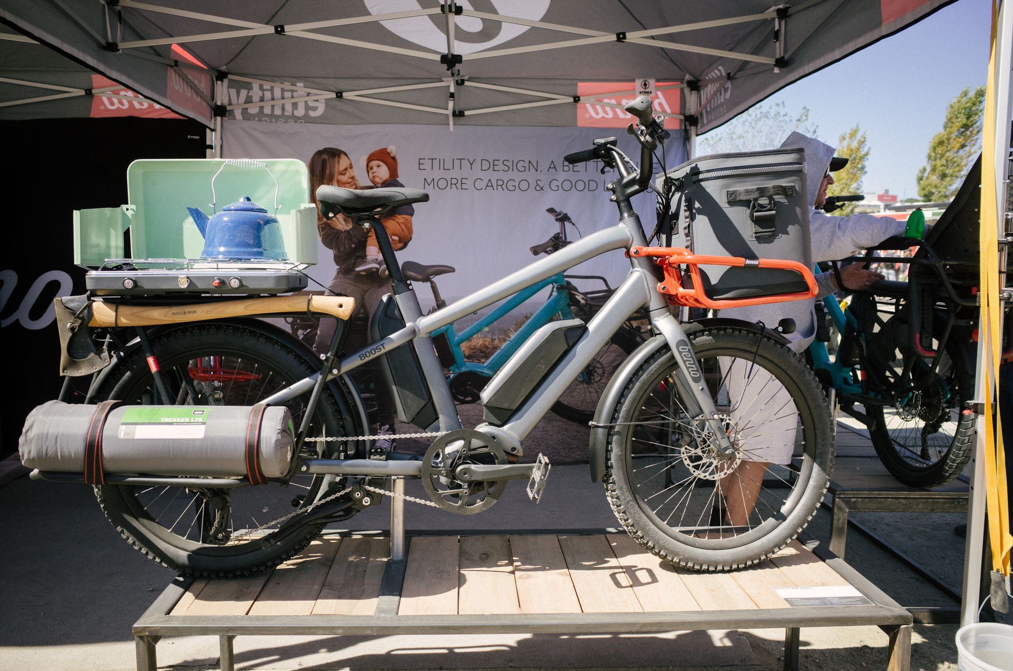 This Benno e-bike is for when you want to car camp, without the car.