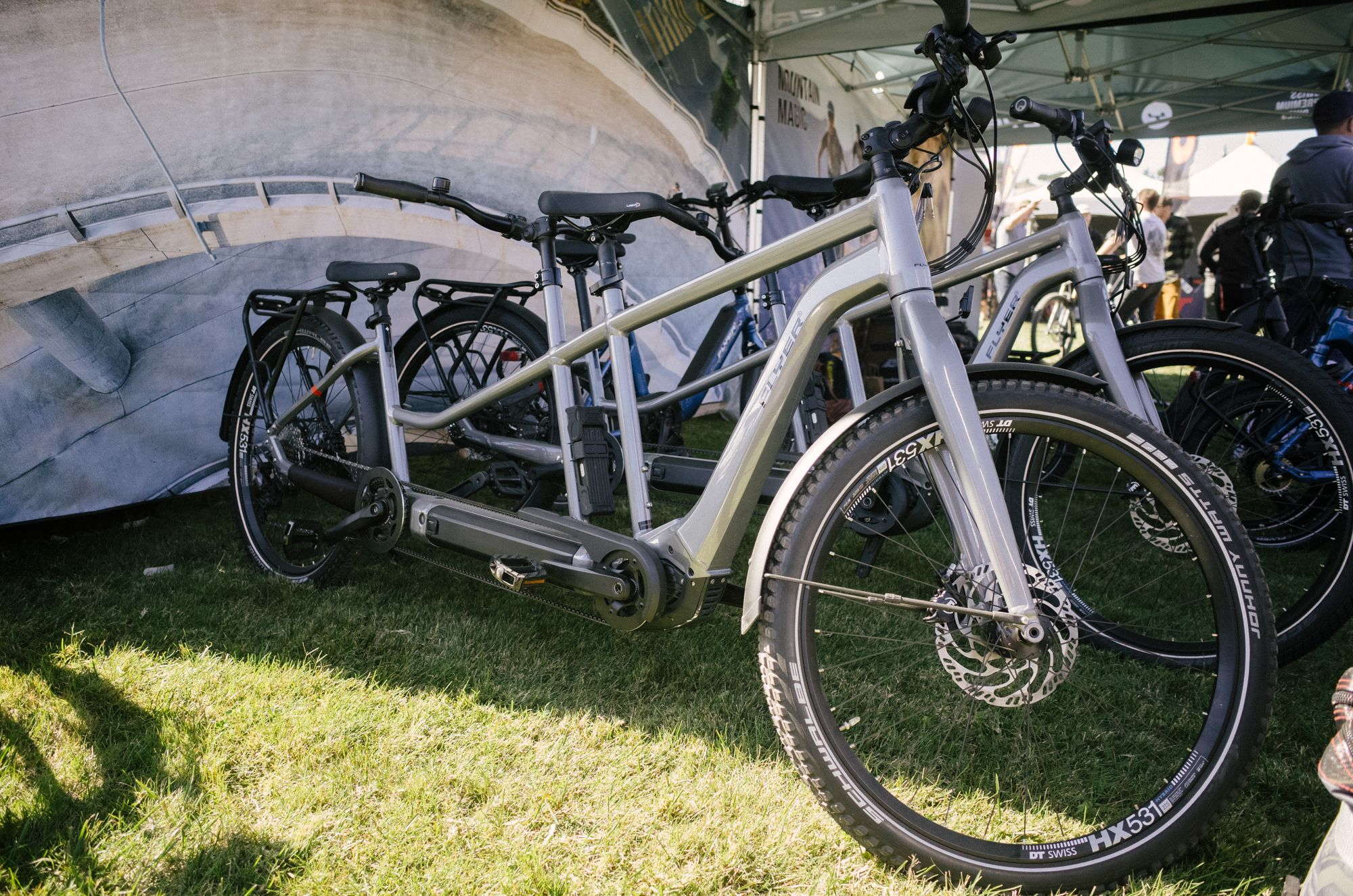 We promised you an e-bike tandem, so here is an e-bike tandem. I'm sure opinions will be divided on this one.