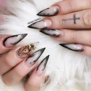 Blue, Finger, Skin, Nail, Nail care, Purple, Nail polish, Pink, Style, Majorelle blue,
