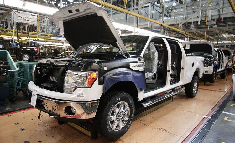 Ford's River Rouge Plant Celebrates a Century of Nonstop Production