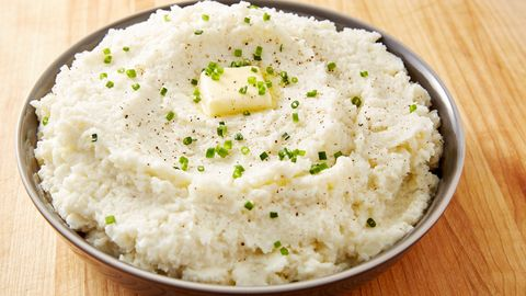 Best Cauliflower Mashed Potatoes Recipe How To Make Low Carb Cauliflower Mash