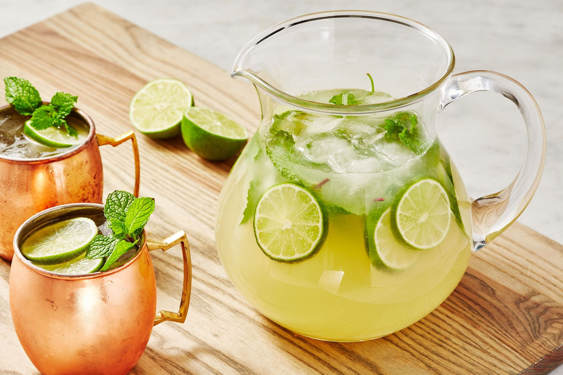 Moscow Mule Punch