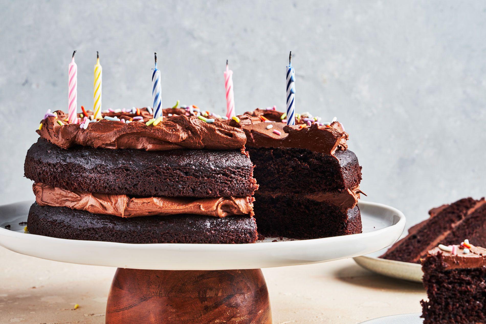 Best Chocolate Birthday Cake Recipe How To Make Chocolate Birthday Cake