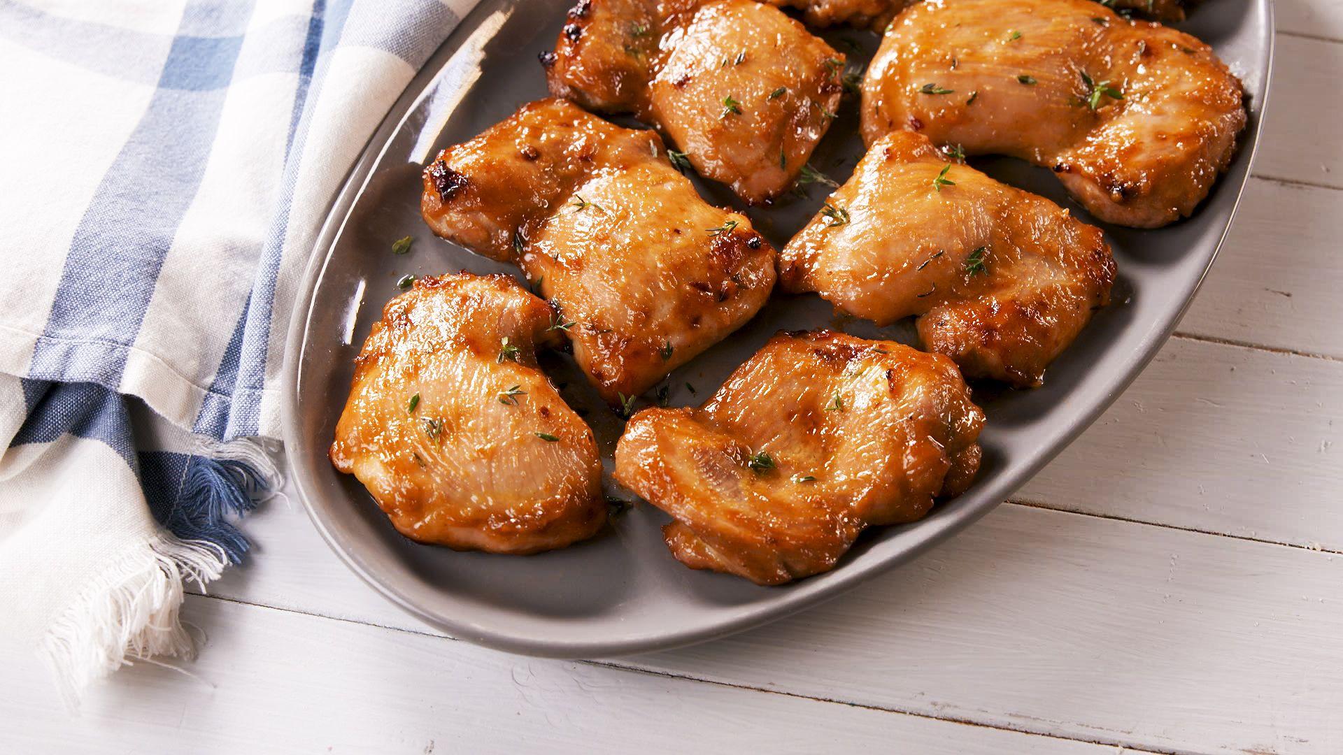 Baked Boneless Chicken Thighs