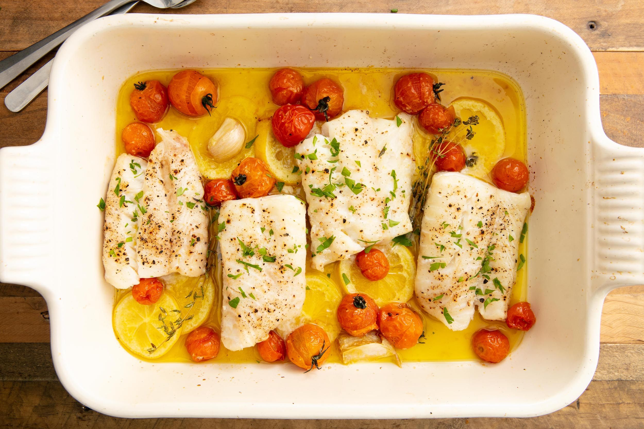 Best Baked Cod Recipe How To Make Baked Cod