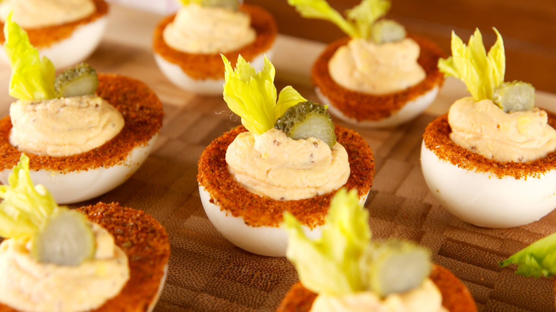 Best Bloody Mary Deviled Eggs Recipe How To Make Bloody Mary Deviled Eggs