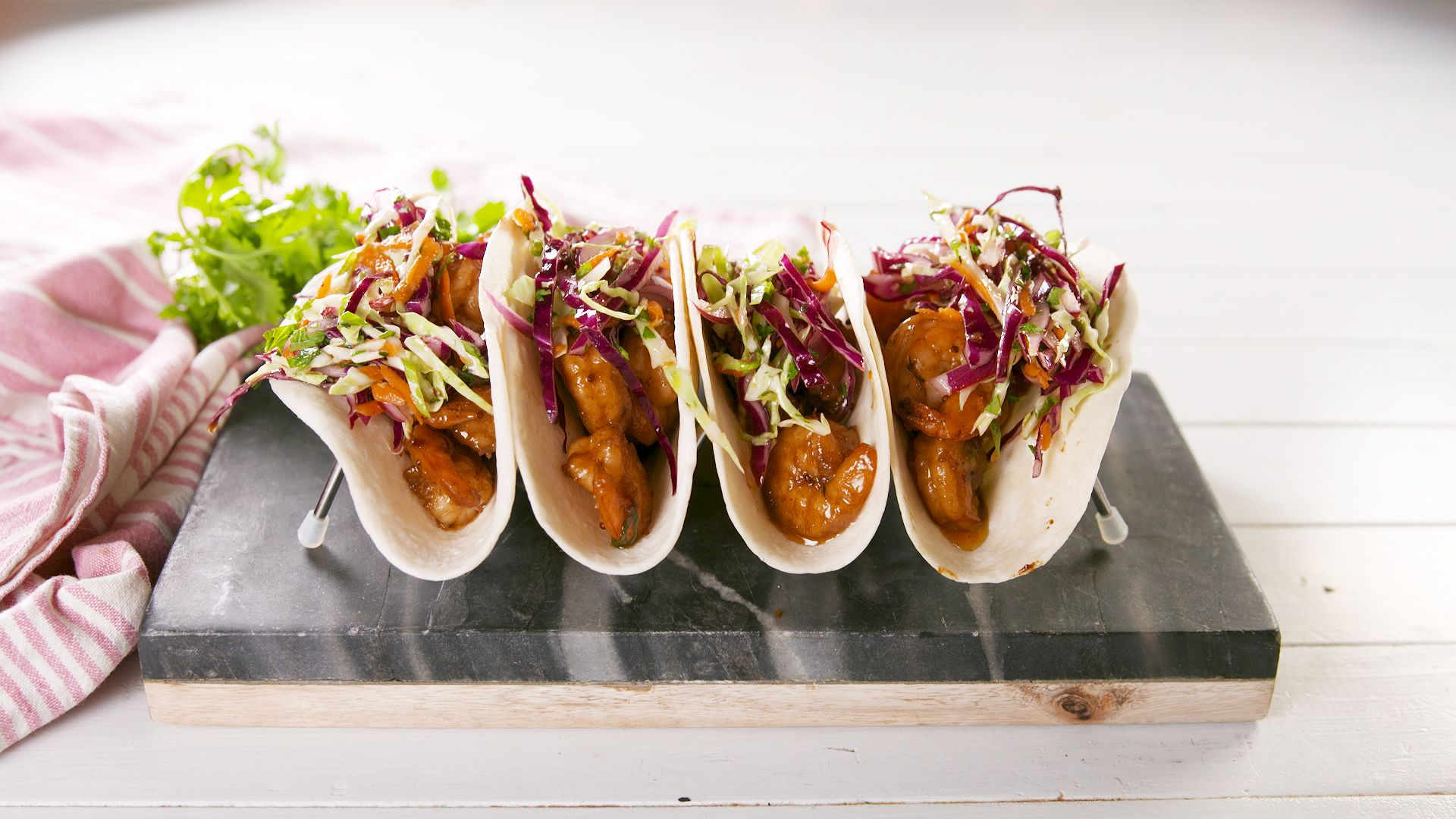 Cajun Butter Shrimp Tacos