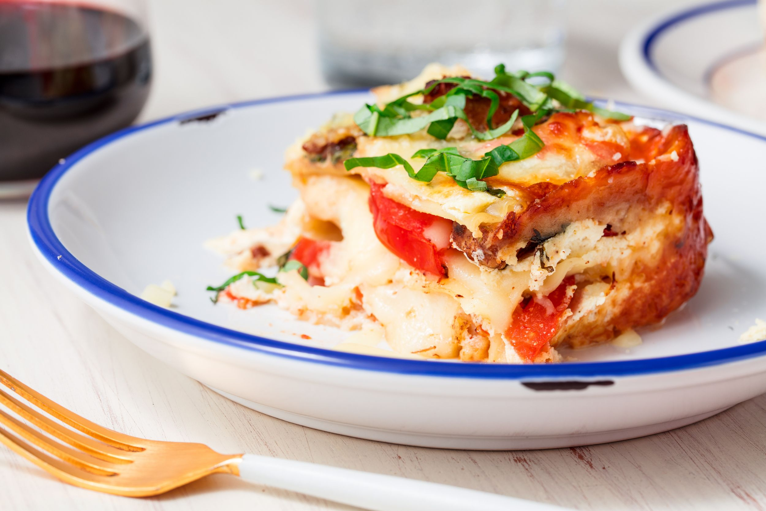 Caprese Chicken Lasagna Is Layers Upon Layers Of Love