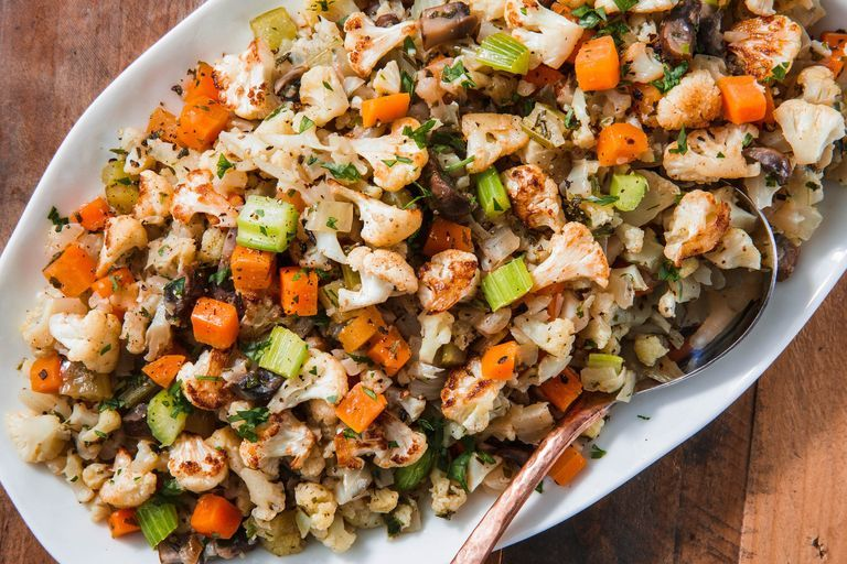 Best Cauliflower Stuffing How To Make Low Carb Cauliflower Stuffing