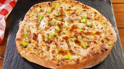 Best Chicken Alfredo Pizza Recipe How To Make Chicken Alfredo Pizza