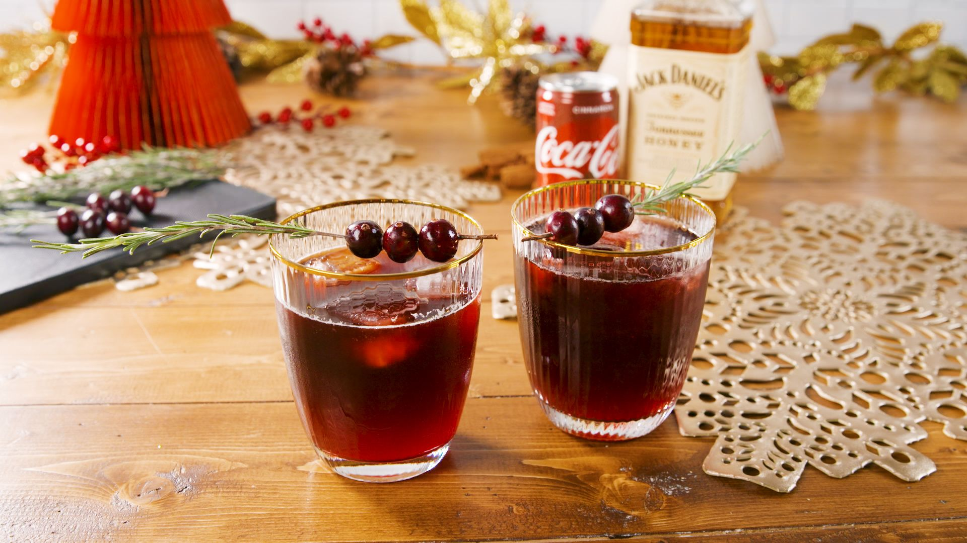 This Festive Spin On The Classic Jack® & Coke® Is Perfect For Your Holiday Parties