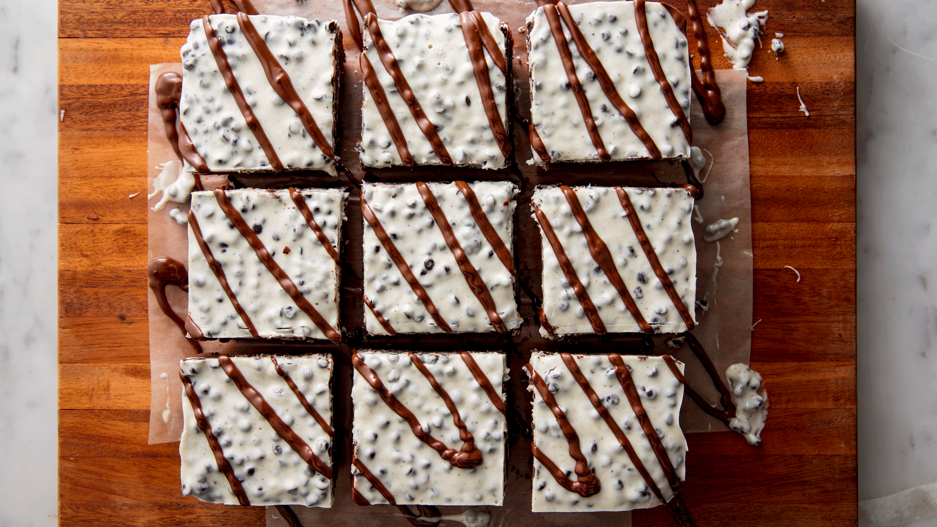 Cookies 'N' Cream Brownies