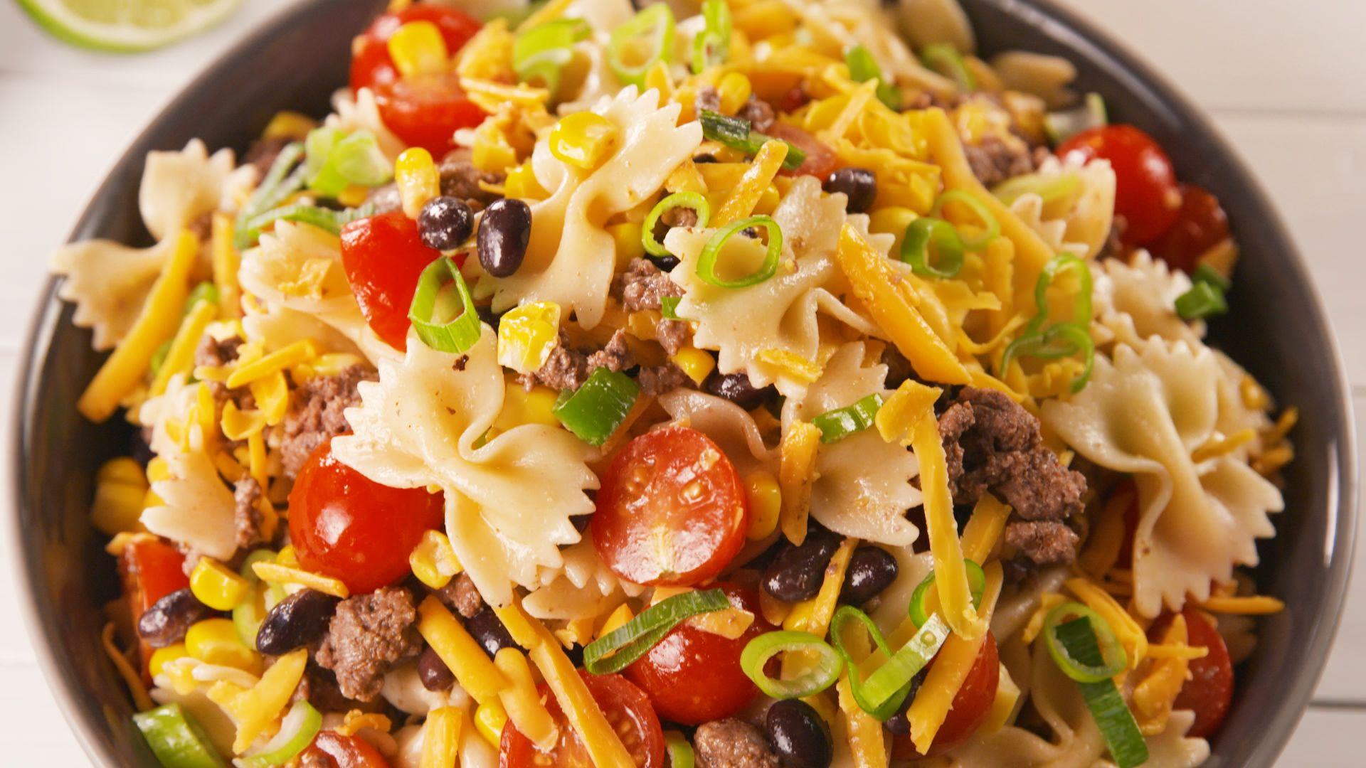 best cowboy pasta salad recipe how to make cowboy pasta salad