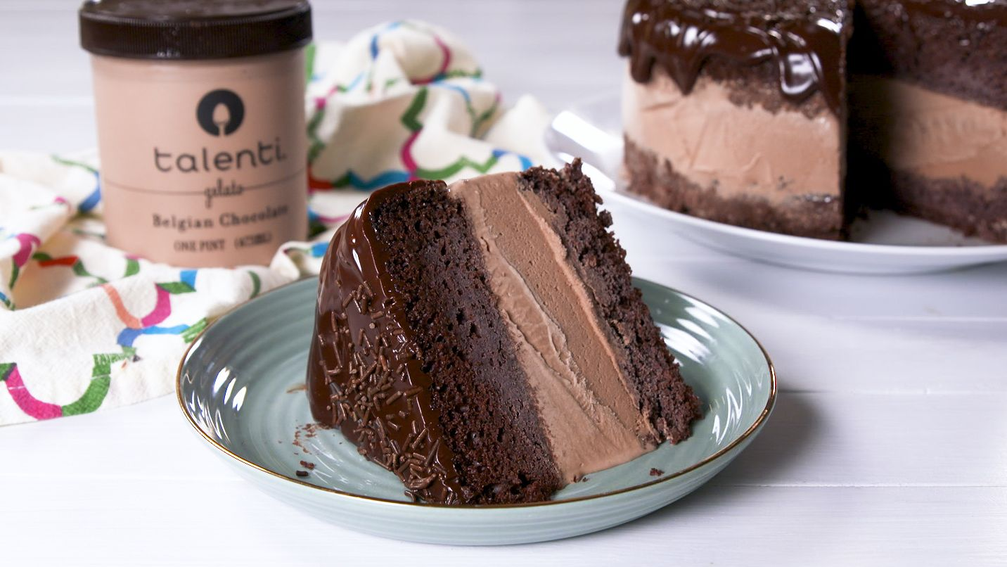 Best Death By Chocolate Ice Cream Cake Recipe How To Make Death By Chocolate Ice Cream Cake