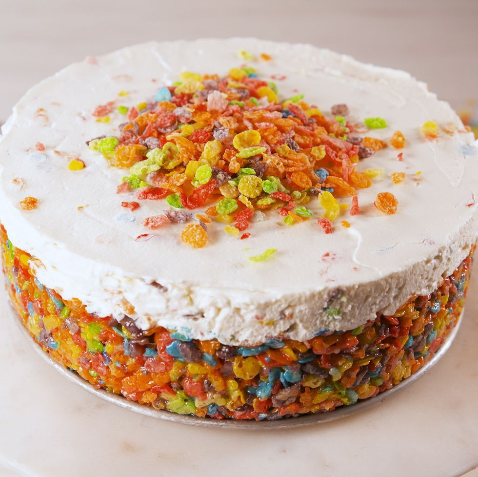 Best Fruity Pebbles Cheesecake Recipe - How To Make Fruity Pebbles Cheesecake
