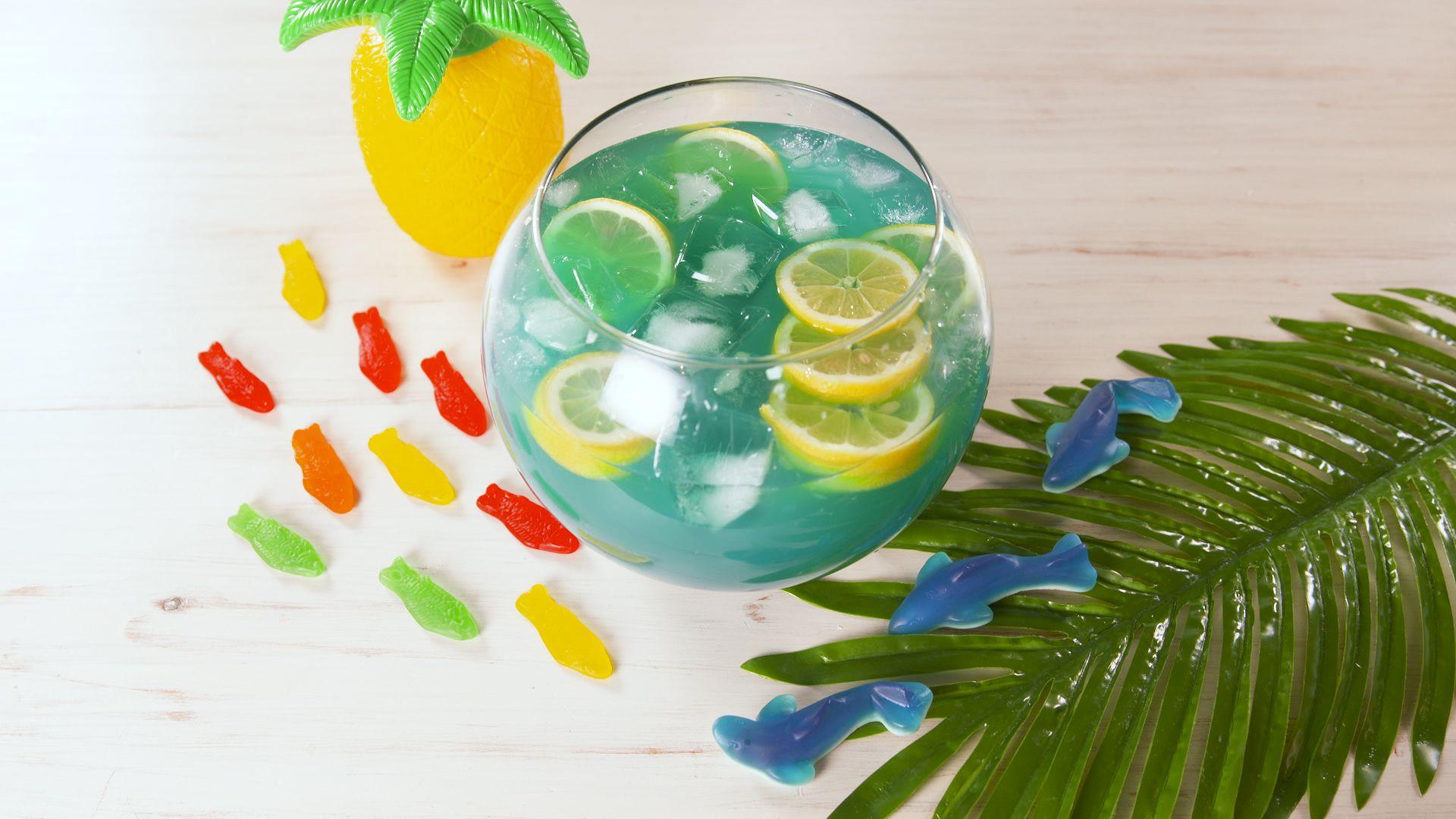 Best Boozy Fishbowl Recipe - How To Make Boozy Fishbowl