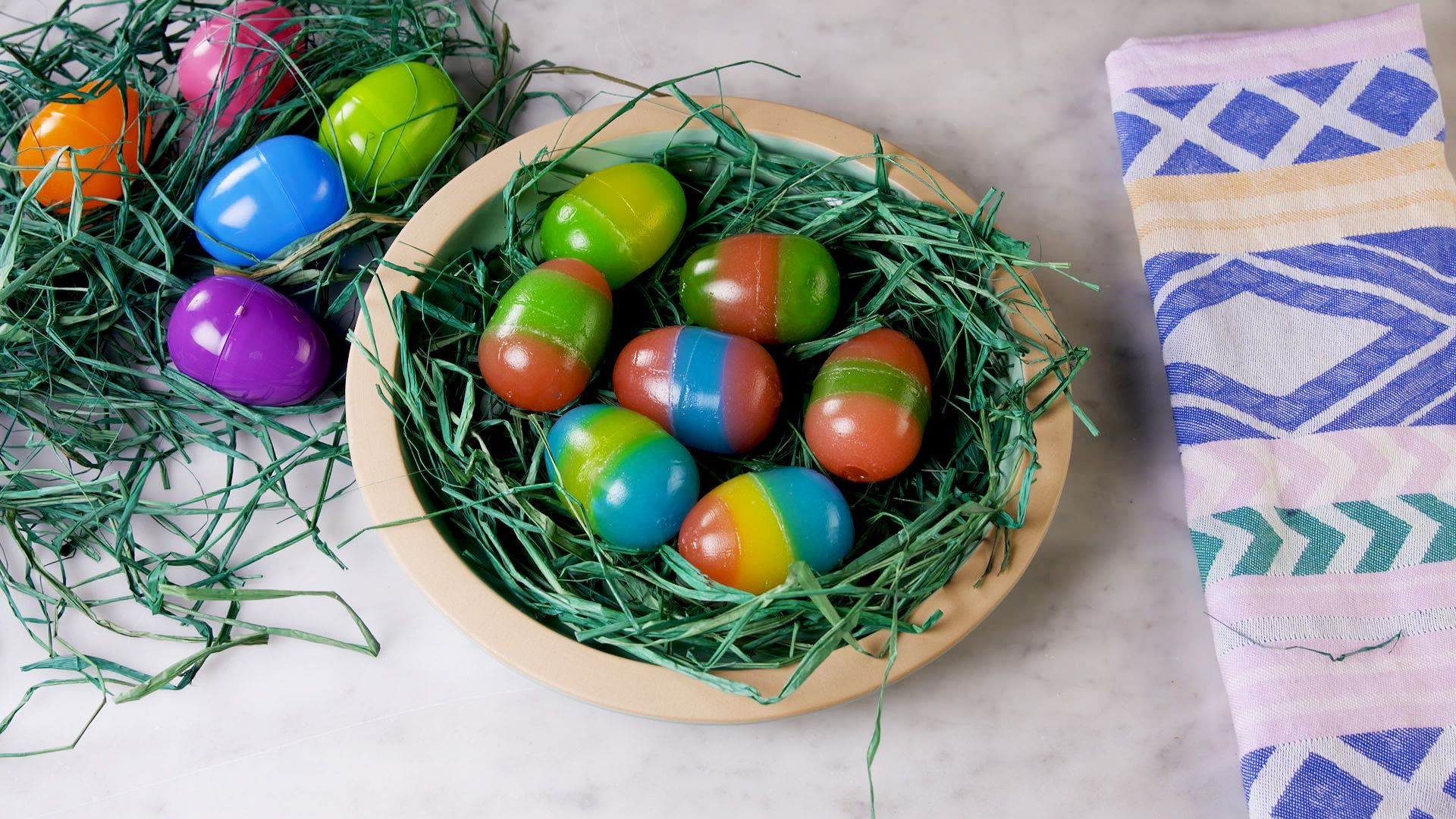 Jell-O Easter Eggs