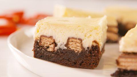 best kit kat cheesecake bars recipe how to make kit kat cheesecake