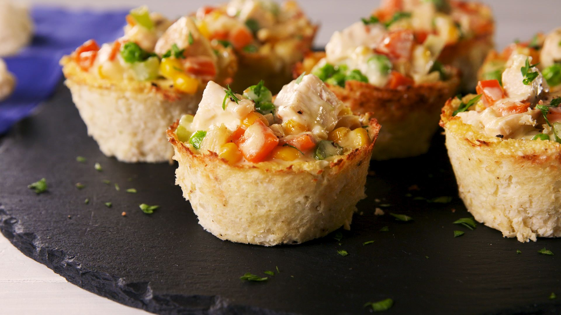 Low-Carb Chicken Pot Pies
