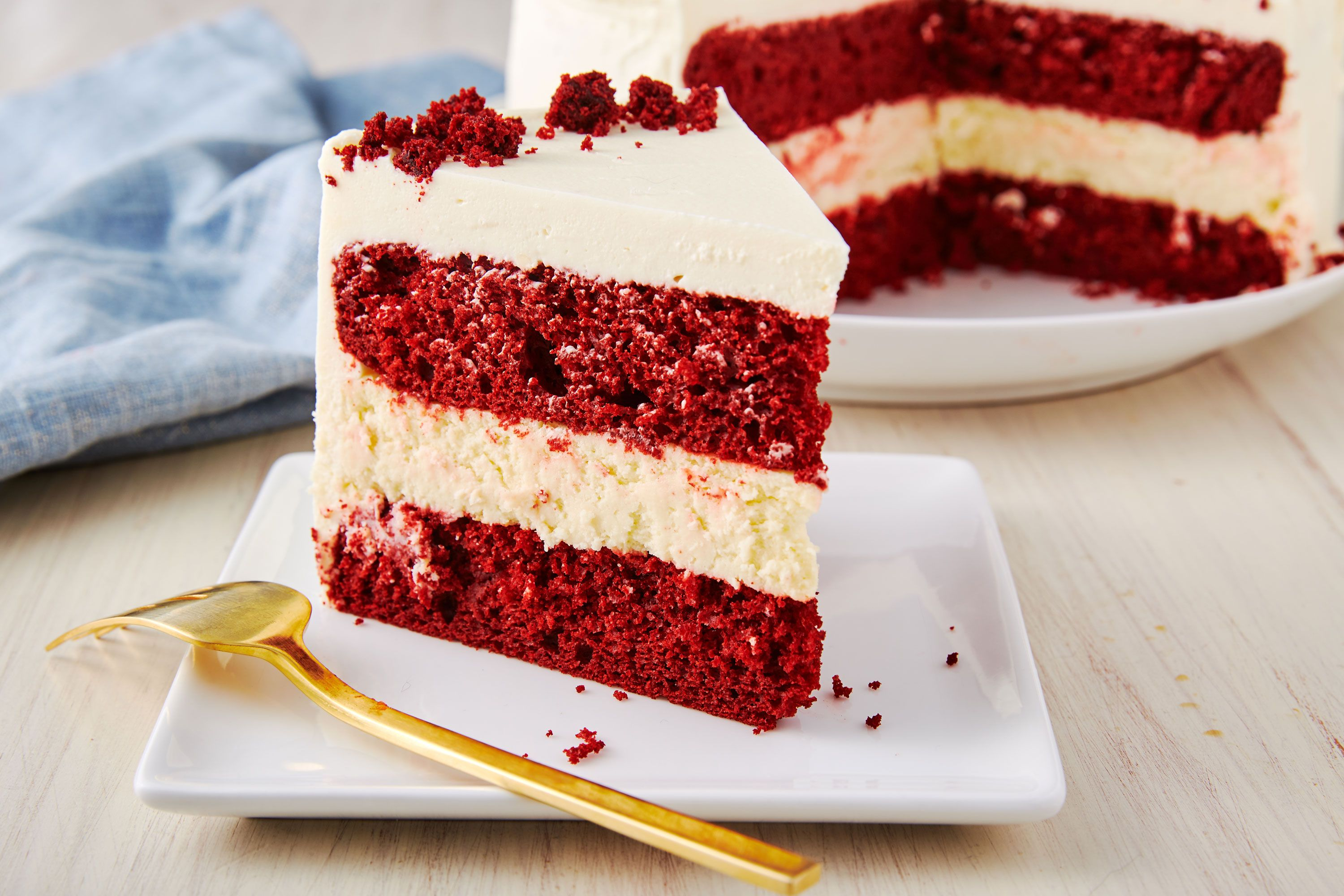 Best Red Velvet Cheesecake Cake Recipe How To Make Red Velvet