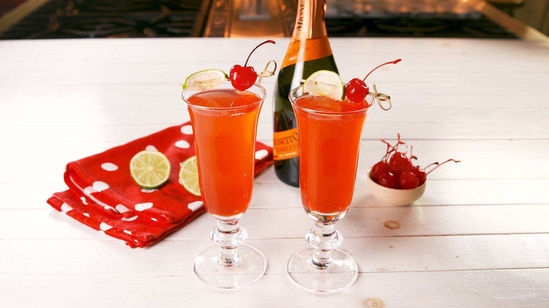 Shirley Temple Mimosas