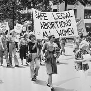 safe legal abortions for all women demo