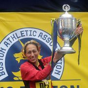 Desiree Linden Boston Marathon Victory