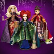 disney hocus pocus winifred, sarah, and mary sanderson sisters dolls