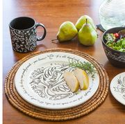 Food, Table, Tableware, Dishware, Fruit, Interior design, Pottery, Porcelain, Serveware,