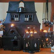 diy haunted dollhouse