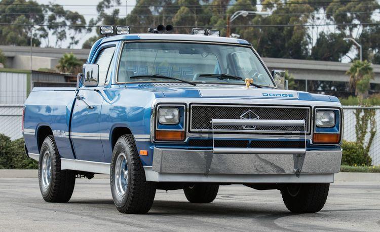 Dodge Shelby Dakota and D150 Prototypes Headed to Auction