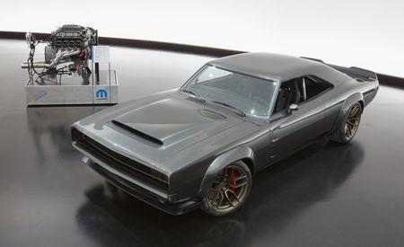 Mopar Debuts 1968 Dodge Super Charger Custom with 1000-HP Crate Hemi
