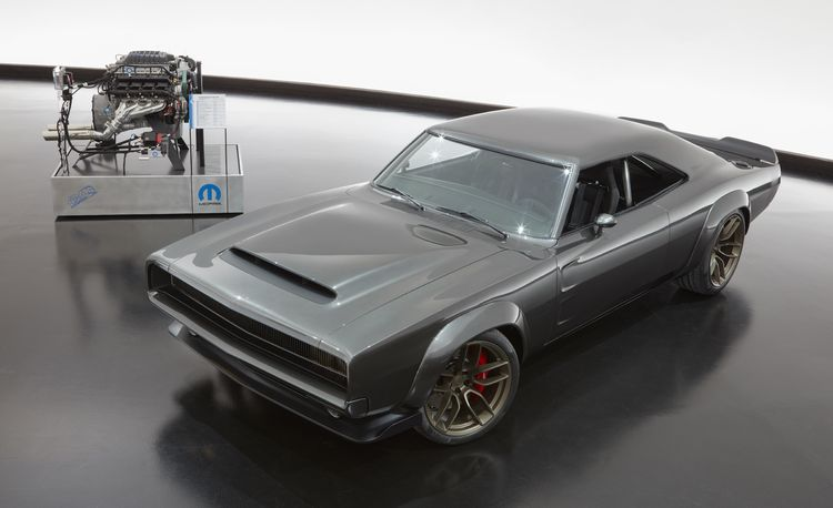 Mopar Debuts 1968 Dodge Super Charger Custom with 1000-HP Crate Hemi