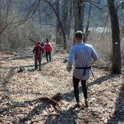 downhill trail running