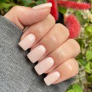 Nail polish, Nail, Manicure, Finger, Nail care, Cosmetics, Pink, Hand, Material property, Service,