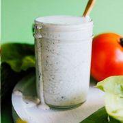 Food, Smoothie, Vegetable juice, Drink, Health shake, Juice, Ingredient, Cuisine, Dish, Lassi,