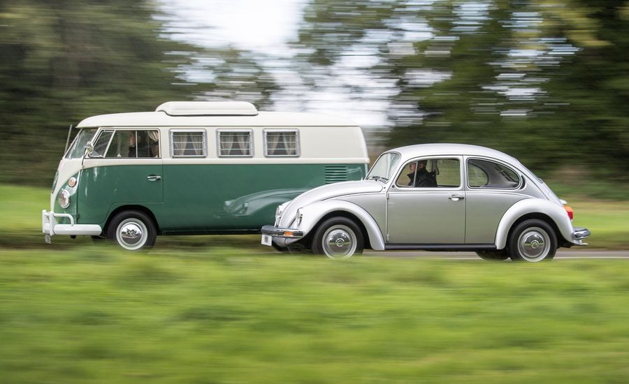Round and Rectangular: Driving an Original VW Beetle and Microbus