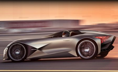 The Asymmetrical DS X E-Tense Is an Optical Illusion in Concept-Car Form