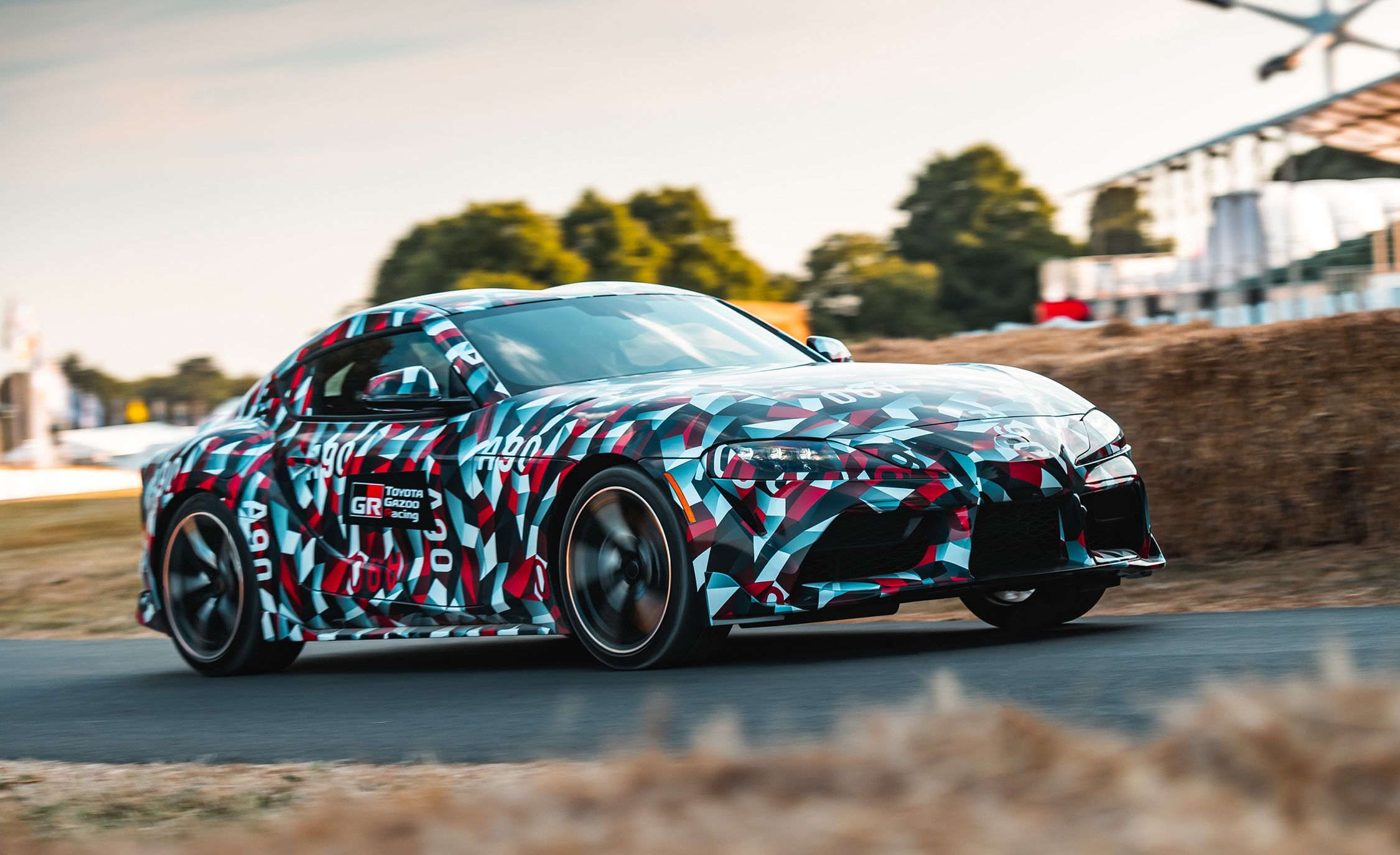 Report: The New Toyota Supra Will Offer a (BMW) Four-Cylinder Engine