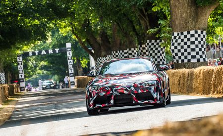 Report: The New Toyota Supra Will Offer a (BMW) Four-Cylinder Engine - Gallery