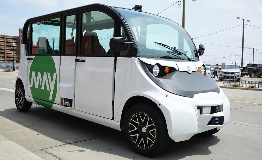 May Mobility Launches Self-Driving Shuttle Service in the Motor City