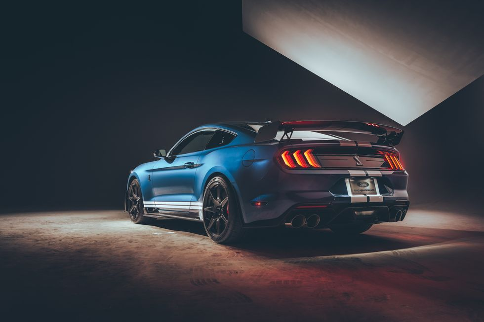 Listen to the 2020 Ford Mustang Shelby GT500's Four Exhaust Modes