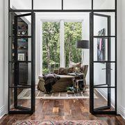 Room, Furniture, Door, Interior design, Building, Property, House, Window, Living room, Architecture,