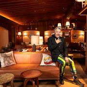 philippe starck at l'avenue restaurant nyc