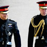 Prince Harry Arrives at the Royal Wedding